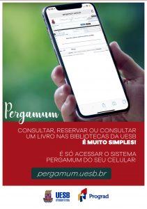 aplicativo pergamum