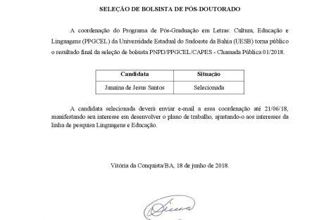 Resultado final PNPD 2018 - PNDPPPGCEL-001