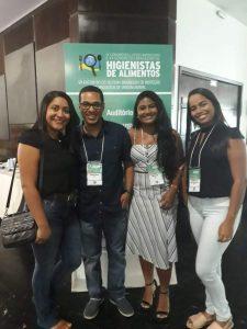 Professor Leandro Soares's team in the Higienistas2019 symposium
