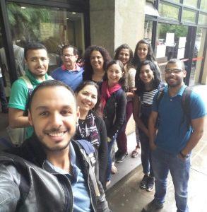 Participação de alunos e professores no XII Enanpege, ano 2017