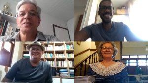 Defesa de dissertação de forma remota do discente Nielson Pereira da Silva Bonfim