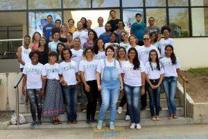 foto oficial do 1º Curso de Verão de Biodiversidade e Conservação