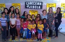 Trabalhos de alunos e professores da Escola Municipal Eulálio Leite