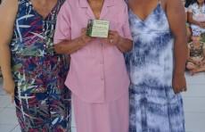 Cláudia Fernandes, Dona Nalzira Maria de Jesus e Silvani