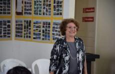 Profa. Heleusa Câmara na abertura da 16ª Semana de Museus no Memorial Casa Governador Regis Pacheco