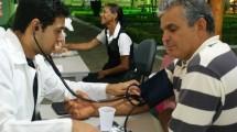 Estudantes de Medicina na ExpoConquista