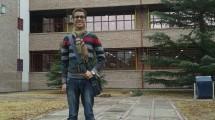 Felipe Lemos na Universidade Nacional de Cuyo.