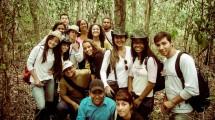 Aula de ecologia florestal na Chapada Diamantina.