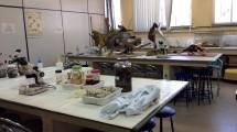 Laboratório de Biologia.