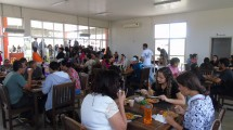 Restaurante Universitário em Vitória da Conquista, onde os alunos contemplados com o Prae têm direito à bandejão a um real.