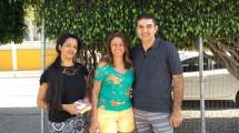 Marcelo Queiroz veio de Brasília acompanhar a filha.