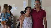 Marcelo João Alves da Silva e Maria da Conceição Amaral Alves, pais de Ariele Amaral Alves, que busca uma vaga no curso de Medicina.