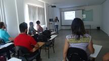 Sala de aula do Programa.