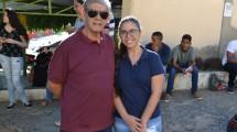 Francisco Souza e sua filha Aniele Geovana